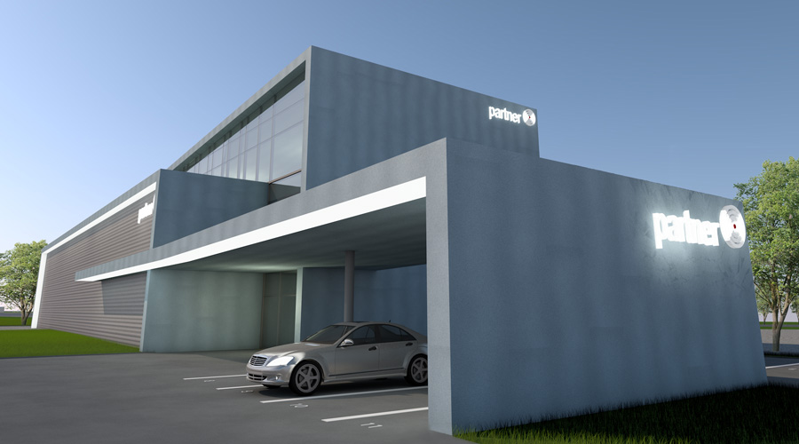 Irodaház, Raktárcsarnok - Office building, industrial warehouse